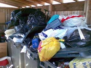 Jätelaatikkojen täyttöaste on nyt reilusti yli 100 prosenttia.